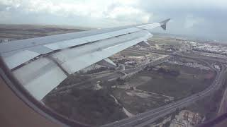 الهبوط بمطار باراخاس في مدريد - إسبانيا [=] Landing at Barajas Airport in Madrid - Spain