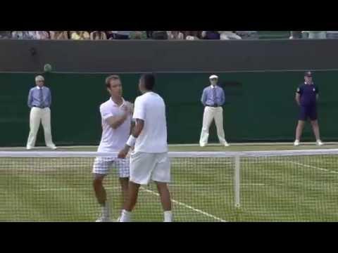 Nick Kyrgios wins five-set epic - Wimbledon 2014