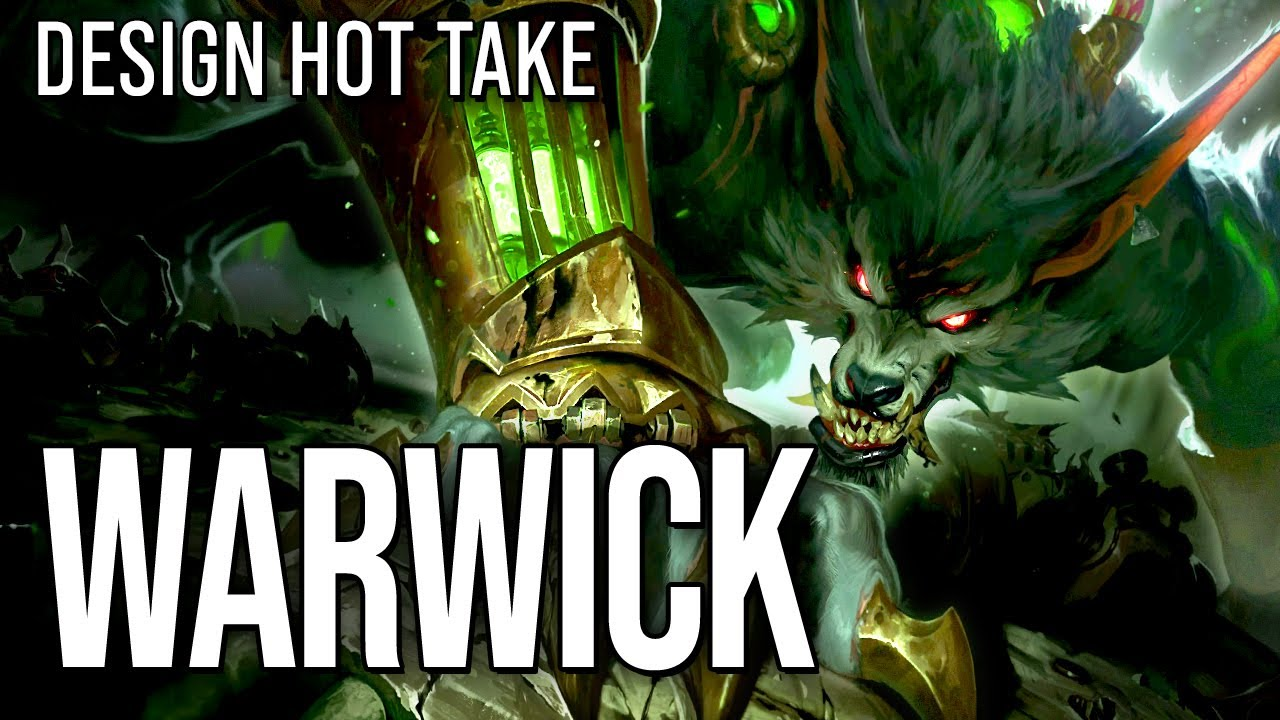 Warwick is a good spin on a werewolf    design hot take #shorts