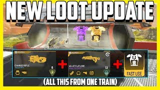 New Apex Legends Train Loot Update Is Insane! Golden Weapons and More!
