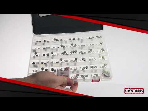 New Hot Cams 5 Pack 7.48mm x 1.40mm Valve Shim Kits for Honda 5PK748140