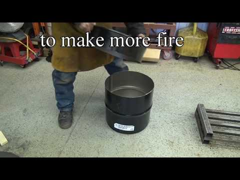 HOW TO BUILD A FOUNDRY FURNACE !!! Melt  Metal. ask Jeff Williams