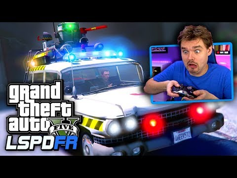 GTA 5 LSPDFR Halloween Special! Ghosts, Clowns, Cops... What Could Go Wrong?