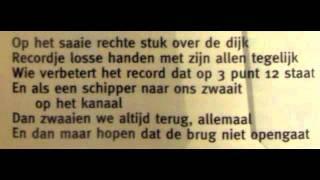 Kinderen voor Kinderen - Wind tegen wind mee met lyrics!