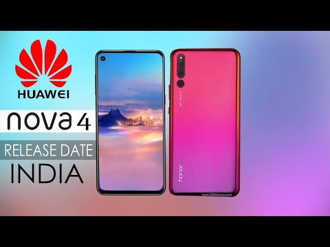 Huawei Nova 4 Official First Look, 4 Price, Specifications, Release Date in INDIA