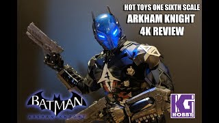 Hot Toys VGM 028 Arkham Knight Redhood 4K Review