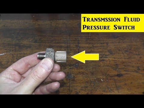 How To Replace A Transmission Fluid Pressure Switch P0847 / P0848 / P0872 / P0873