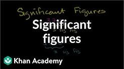 Significant figures   Decimals   Pre-Algebra   Khan Academy