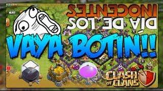 Gameplay [Clash Of Clans] Botin..!!!