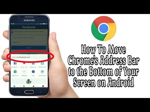 How To Move Chrome's Address Bar to the Bottom of Your