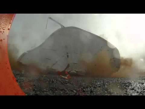 Explosive demolition on Hanford's Central Plateau