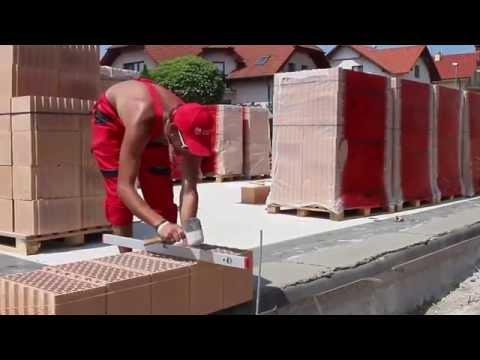 Ako Správne Založiť Stavbu Za Pol Dňa S Presnými Brúsenými Tehlami TermoBrik