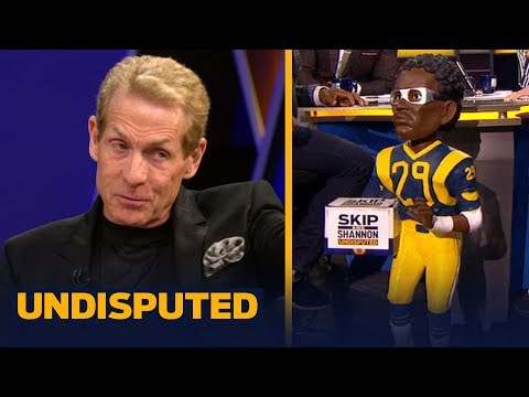 Eric Dickerson joins Skip and Shannon to predict the Cowboys vs Rams playoff game   NFL   UNDISPUTED