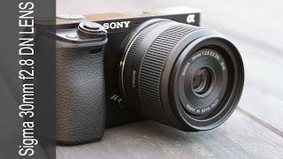 Sigma 30mm F2.8 EX DN Lens - In Depth Review on the Sony a6000 Camera