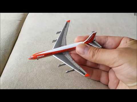 Avianca Boeing 707-320, Unboxing (#2)