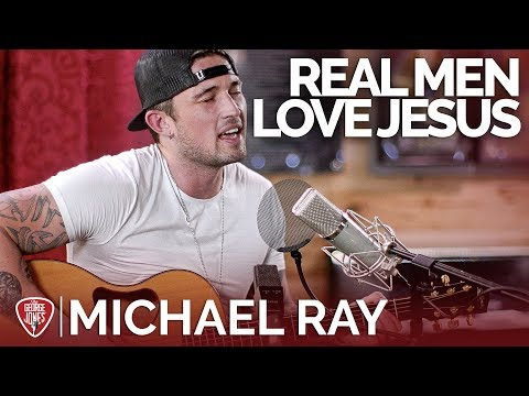 Michael Ray - Real Men Love Jesus (Acoustic) // The George Jones Sessions