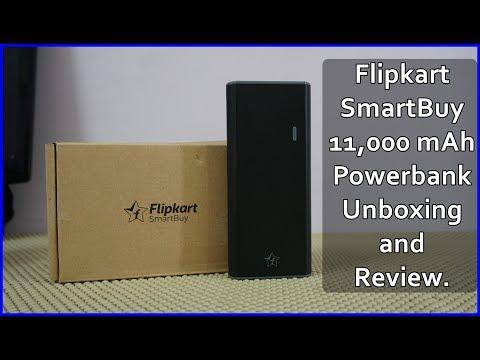 Flipkart SmartBuy 11000 mAh Powerbank Unboxing & Full Review