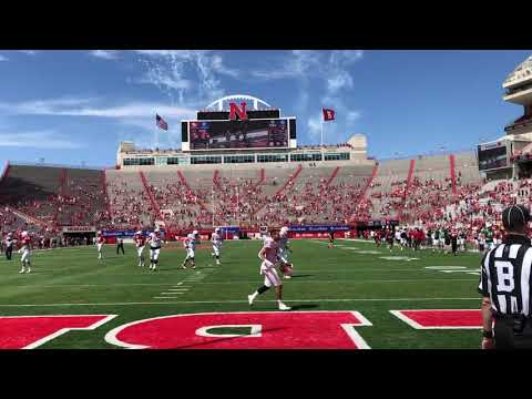 Final Play of the 2021 Nebraska Football Spring Game