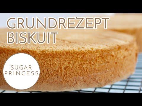 Biskuitboden einfach und schnell selber backen - Grundrezept für Biskuit | Sugarprincess