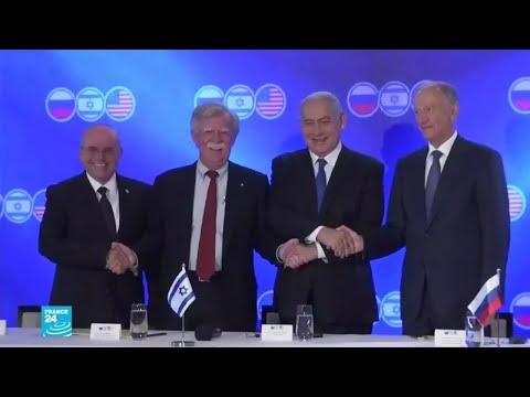 قمة ثلاثية في القدس تجمع مستشاري الأمن القومي الروسي والأمريكي والإسرائيلي  - نشر قبل 7 دقيقة
