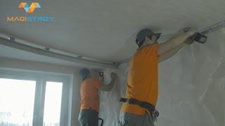 Двухуровневый натяжной потолок: виды конструкций, инструкция как монтировать, видео и фото
