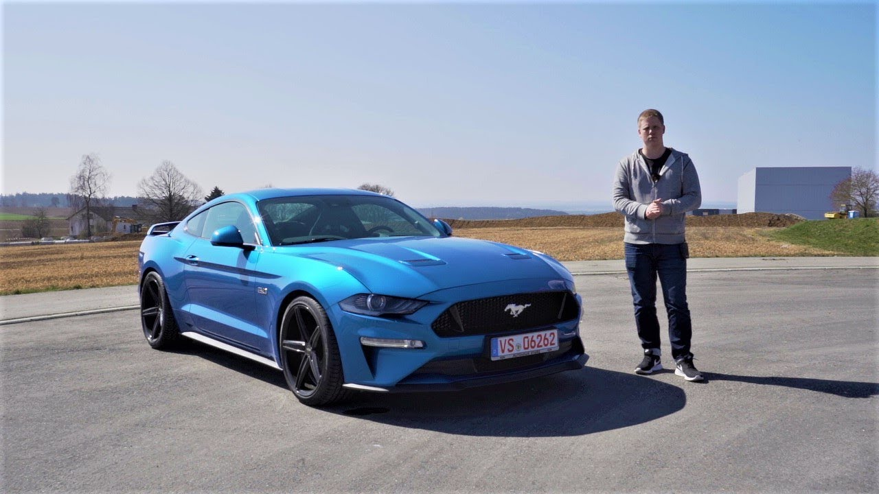2019 ford mustang gt coupe 5 0 v8 - review  fahrbericht  test