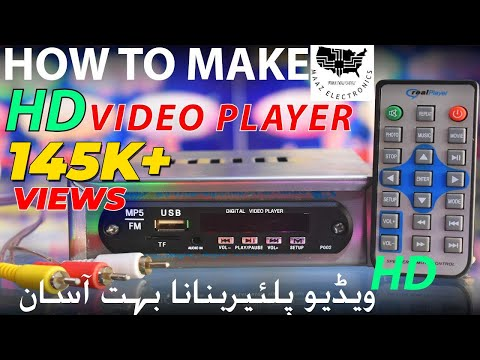 DIY | How to make HD Player | MP4 Player |MP4 Video Player | MP5 Video Player