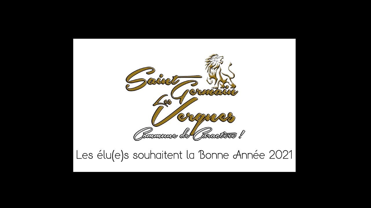 LES ÉLU(E)S VOUS SOUHAITENT BONNE ANNÉE 2021