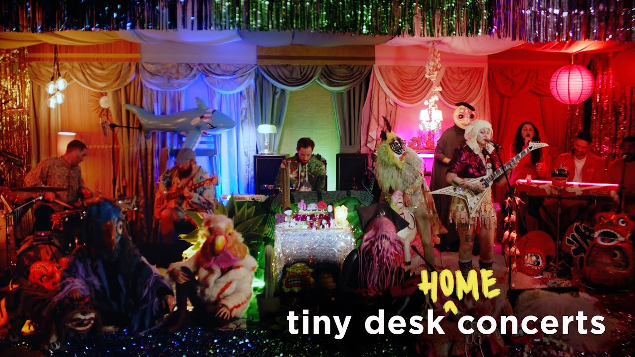 Hiatus Kaiyote: Tiny Desk (Home) Concert