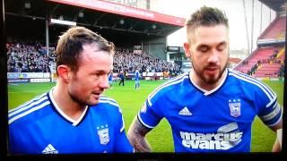 Ipswich vs Charlton - Noel Hunt final minute goal