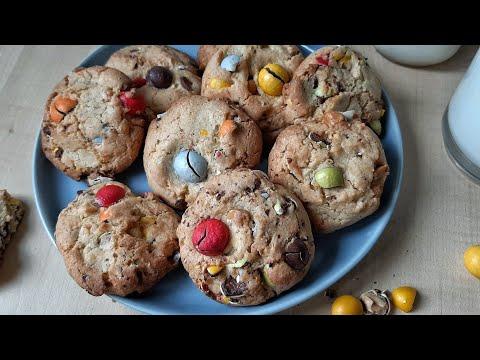 m&m's-cookies-(recette-facile-et-rapide)