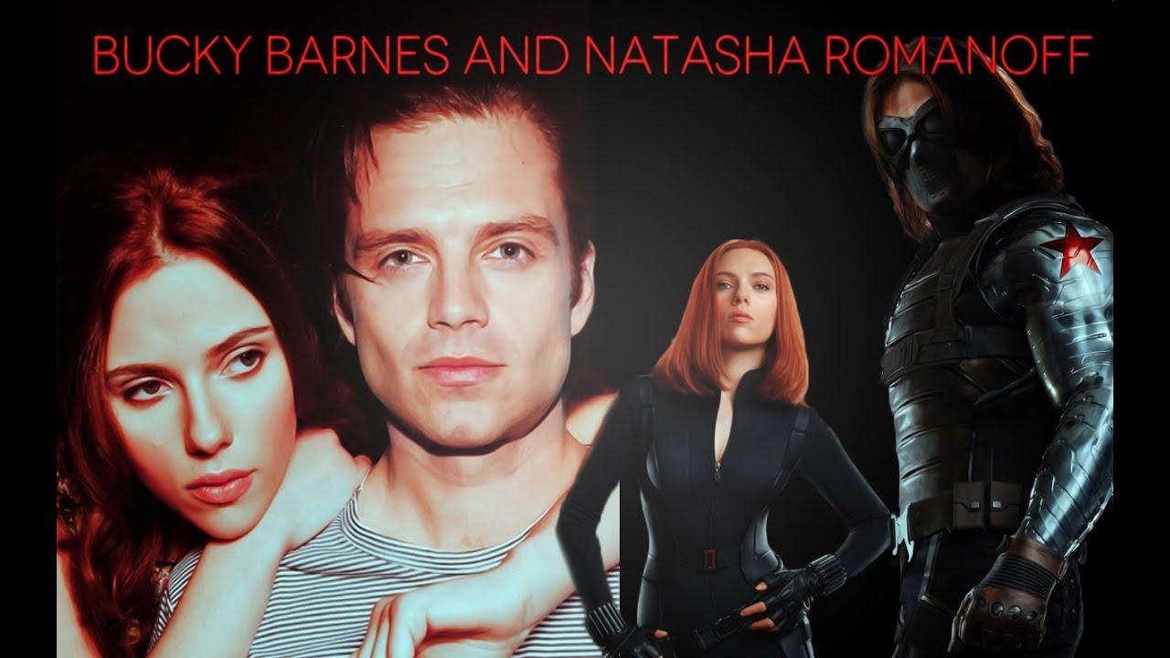 Bucky Barnes And Natasha Romanoff Winter Soldier And Black