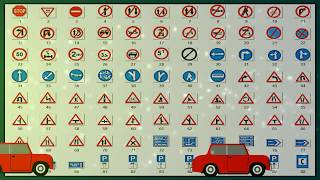 Learning road signs in india,traffic signs in india,traffic rules in india