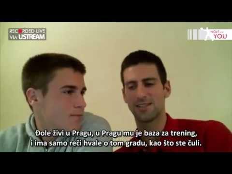 No 12 & 13 LIVE video reply by Novak Djokovic #NoleForYou