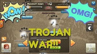 80 ATTACKS IN 10 MINUTES | TROJAN WAR | CLASH OF CLANS