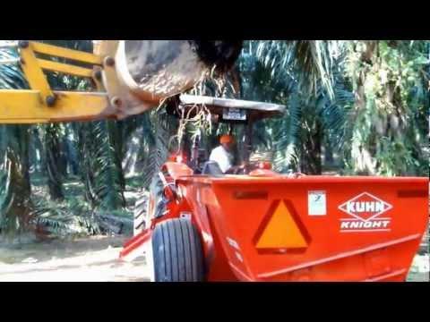 Kuhn ProTwin 8110 Demo at Sg Tekam 3min video