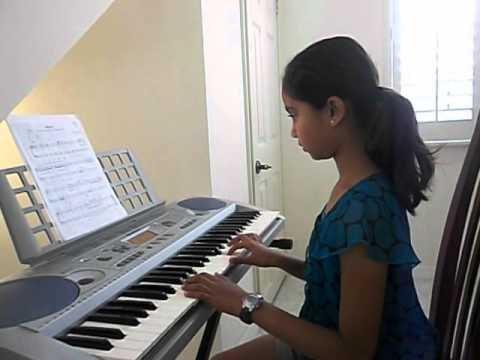 My student playing March by Bach.