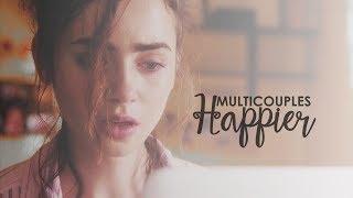 multicouples (love triangles)   happier