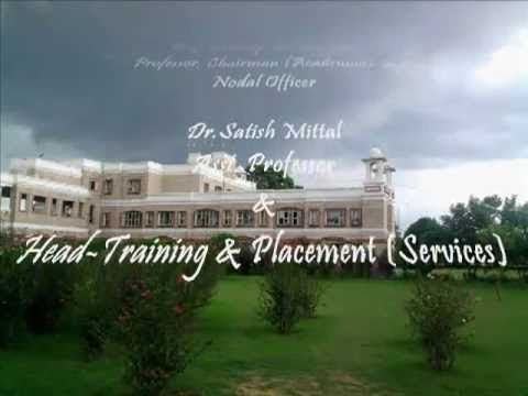 IITTM, INDIAN INSTTT. OF TOURISM & TRAVEL MGMT. (SERVICES),GWALIOR,MADHYA PRADESH, INDIA.flv