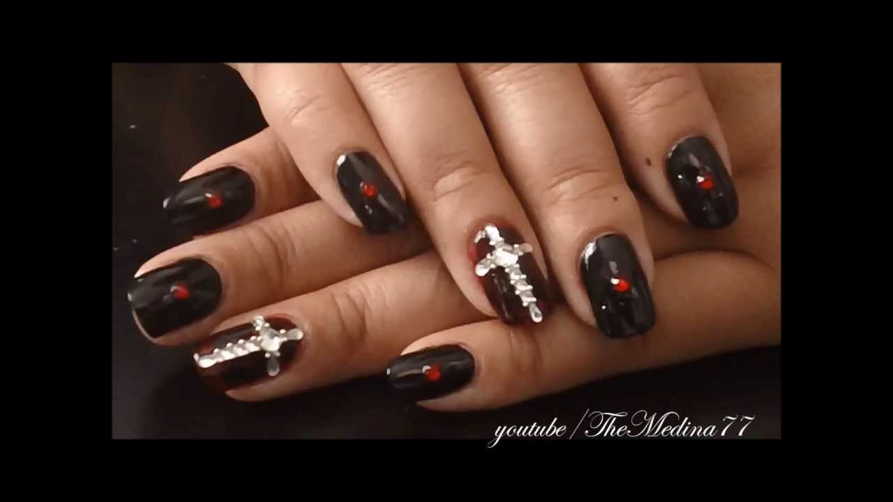 Oh My Goth Nail Art