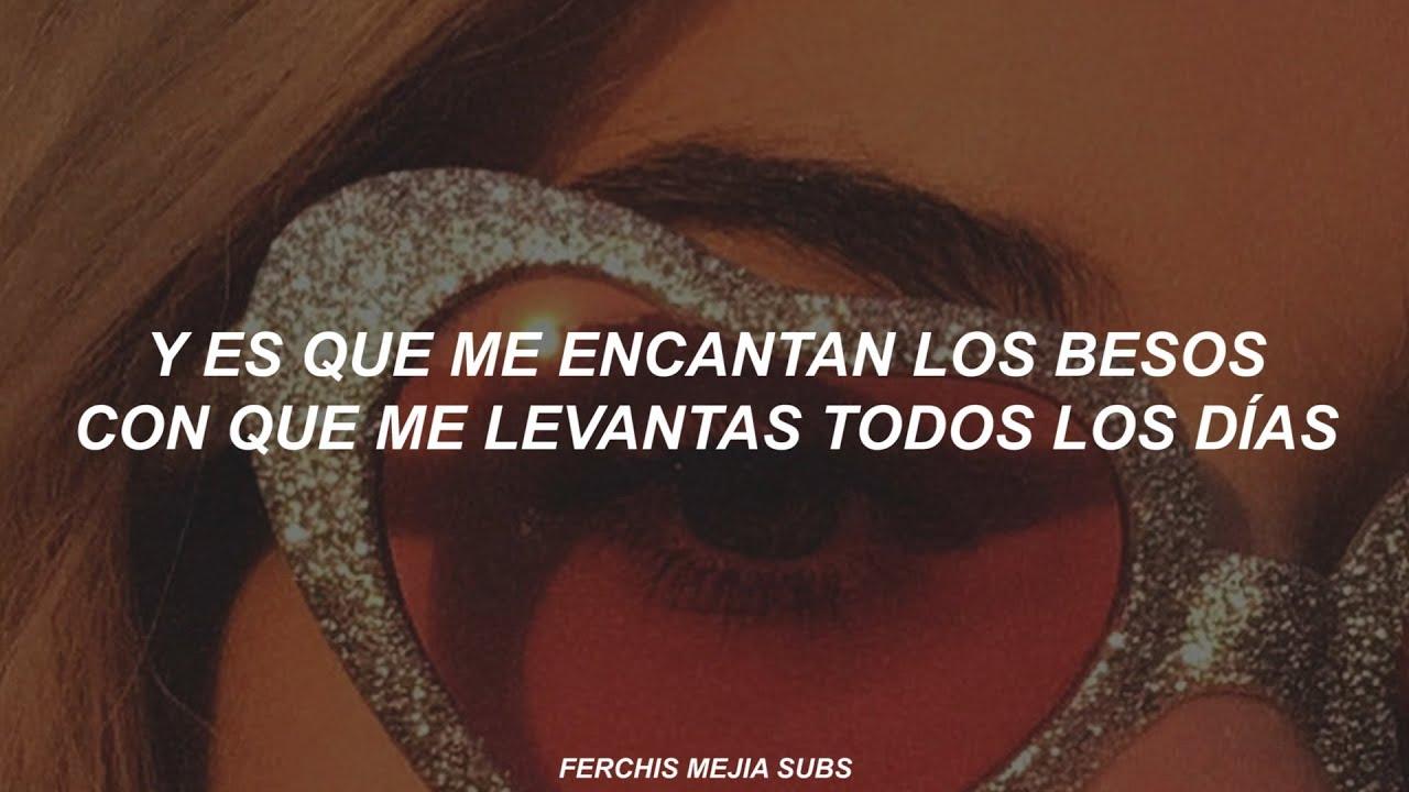 Greeicy Los Besos Letra Lyrics Youtube
