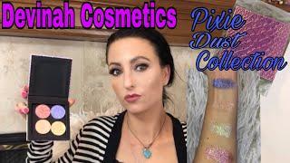 Devinah Cosmetics - Pixie Dust - Pressed Glitters & Palette