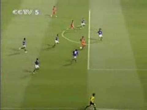 Zheng Zhi's Double against Yokohama