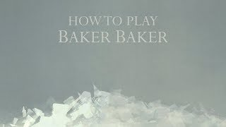 How to play Baker Baker by Tori Amos