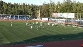 Калуга - Локомотив Лс - 1:1. Автогол Скворцова