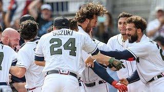 Charlie Culberson Walk Off Vs. Mets | Atlanta Braves Highlights 2018 #ChopOn | 5.28.18