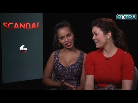 Kerry Washington & Bellamy Young Tease Upcoming Shocking 'Scandal' Premiere
