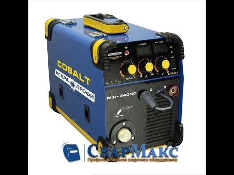 Обзор на сварочный полуавтомат Искра Профи MIG/MMA 340 Cobalt