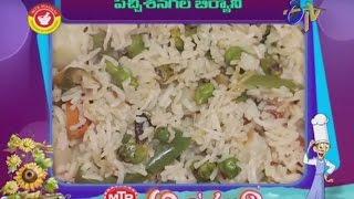 Cooking   Abhiruchi Pachi Chanagala Biryani