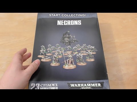 Necrons - Start Collecting Set 2018 - Unboxing (WH40K)